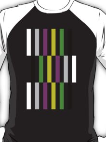 Sheldon Cooper's Color Bars T-Shirt