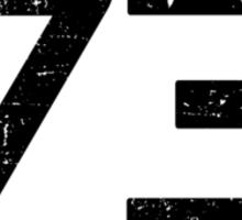 Sheldon Cooper 73 Sticker
