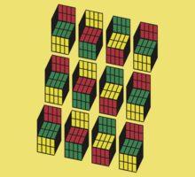 Sheldon Cooper Rubik's Cubes Kids Clothes