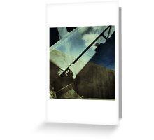 Shadow city Greeting Card