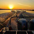Sunset Wake by jasmith162