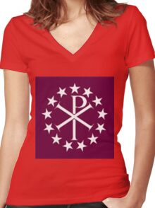 The Px Women's Fitted V-Neck T-Shirt