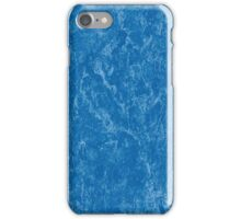 Blue Marble Pattern iPhone Case/Skin