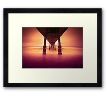 Pacifica Pier LTE Framed Print