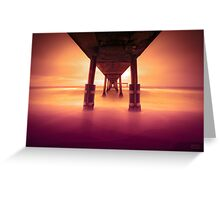 Pacifica Pier LTE Greeting Card