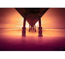 Pacifica Pier LTE Photographic Print