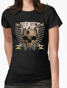 Dead Man's Hand Womens Fitted T-Shirt