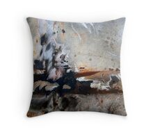 In A Blue Mood Throw Pillow