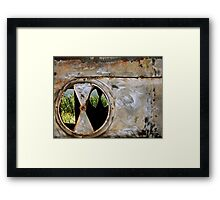 Layered Rustiness Framed Print