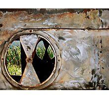 Layered Rustiness Photographic Print