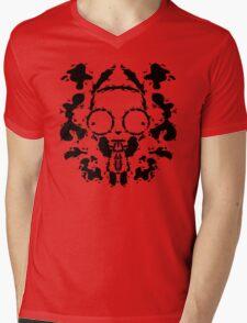 Girblot Mens V-Neck T-Shirt