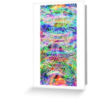 """Modern VGogh"" Abstract Art by Mark Compton Greeting Card"