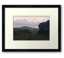 Kao Sok, Thailand Landscape Framed Print