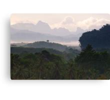 Kao Sok, Thailand Landscape Canvas Print