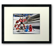 Training: Captains. Framed Print