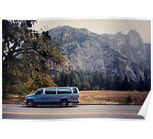 Yosemite vans Poster