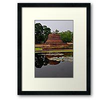 Lillies Sukothai Framed Print
