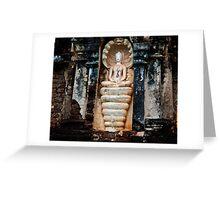 Snake Goddess Greeting Card
