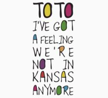 Wizard Of Oz - Toto I've Got A Feeling We're Not In Kansas Anymore by scatman