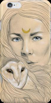 Owl Maiden  by DaltonCarpenter