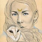 Owl Maiden  by Damara Carpenter