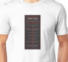 Fight Club - Welcome to Fight Club Unisex T-Shirt