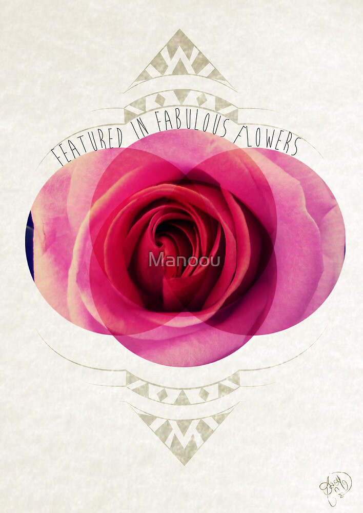 featured in fabulous flower by Manoou