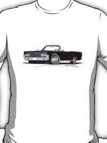 Lincoln Continental Convertible (1963) Black T-Shirt