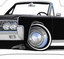 Lincoln Continental Convertible (1963) Black Sticker