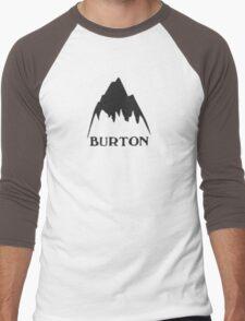 Vintage burton logo Men's Baseball ¾ T-Shirt
