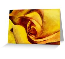 Rose Parchment  Greeting Card