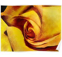 Rose Parchment  Poster