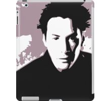 Keanu Reeves in the Matrix, Purple Color iPad Case/Skin
