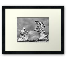 """The Glow of Forgiveness"" Framed Print"
