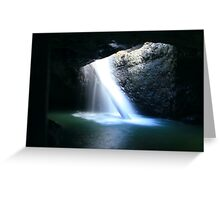 natural bridge ... Greeting Card