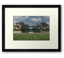 HDR2- The Cube Framed Print