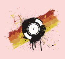 Vinyl Graffiti One Piece - Long Sleeve