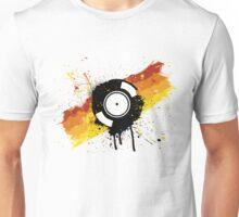 Vinyl Graffiti Unisex T-Shirt