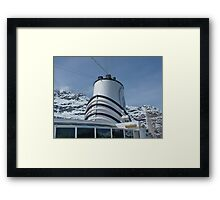 Holland America Cruise Ship the Volendam Framed Print
