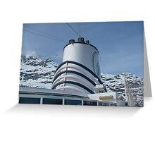 Holland America Cruise Ship the Volendam Greeting Card