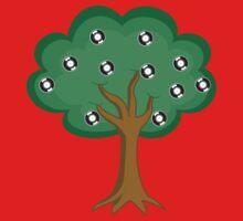 Record Tree - Vinyl DJ Kids Tee