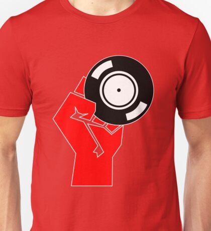 Vinyl Propaganda - Record DJ Unisex T-Shirt