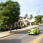 Cuban Car in Varadero by sallyrose1