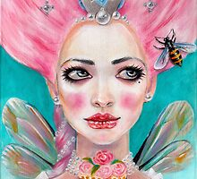 Marie Antoinette Queen Bee by KimTurner