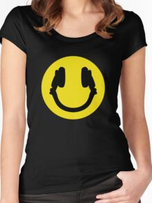 Smile DJ Women's Fitted Scoop T-Shirt