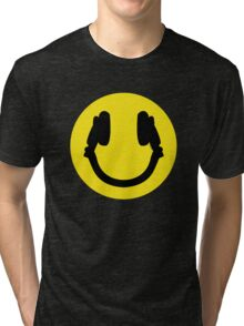 Smile DJ Tri-blend T-Shirt