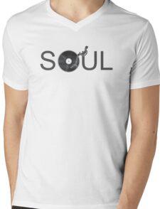 Soul Vinyl Mens V-Neck T-Shirt