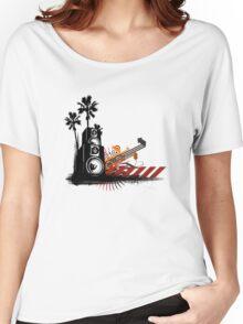 Speaker Tower Women's Relaxed Fit T-Shirt