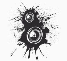 Speaker Splatter by HOTDJGEAR