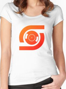 Spin Vinyl Women's Fitted Scoop T-Shirt